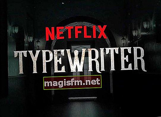 Machine à écrire (série télévisée) Synopsis, intrigue, examen et fin expliqués