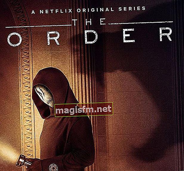 The Order TV-Serie (Staffel 1): Zusammenfassung, Handlung, Rezension, Besetzung, Trailer erklärt