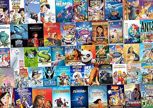 Liste der 10 besten Animationsfilme mit den höchsten Einnahmen des Jahres 2020