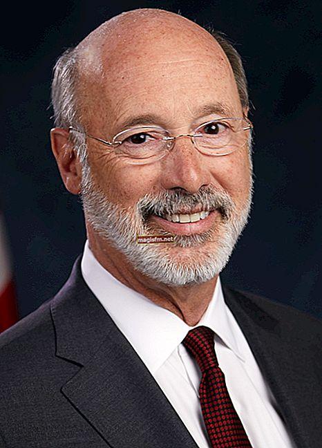 Tom Wolf (Gouverneur von Pennsylvania) Gehalt, Vermögen, Bio, Wiki, Alter, Frau, Kinder, Karriere, Fakten